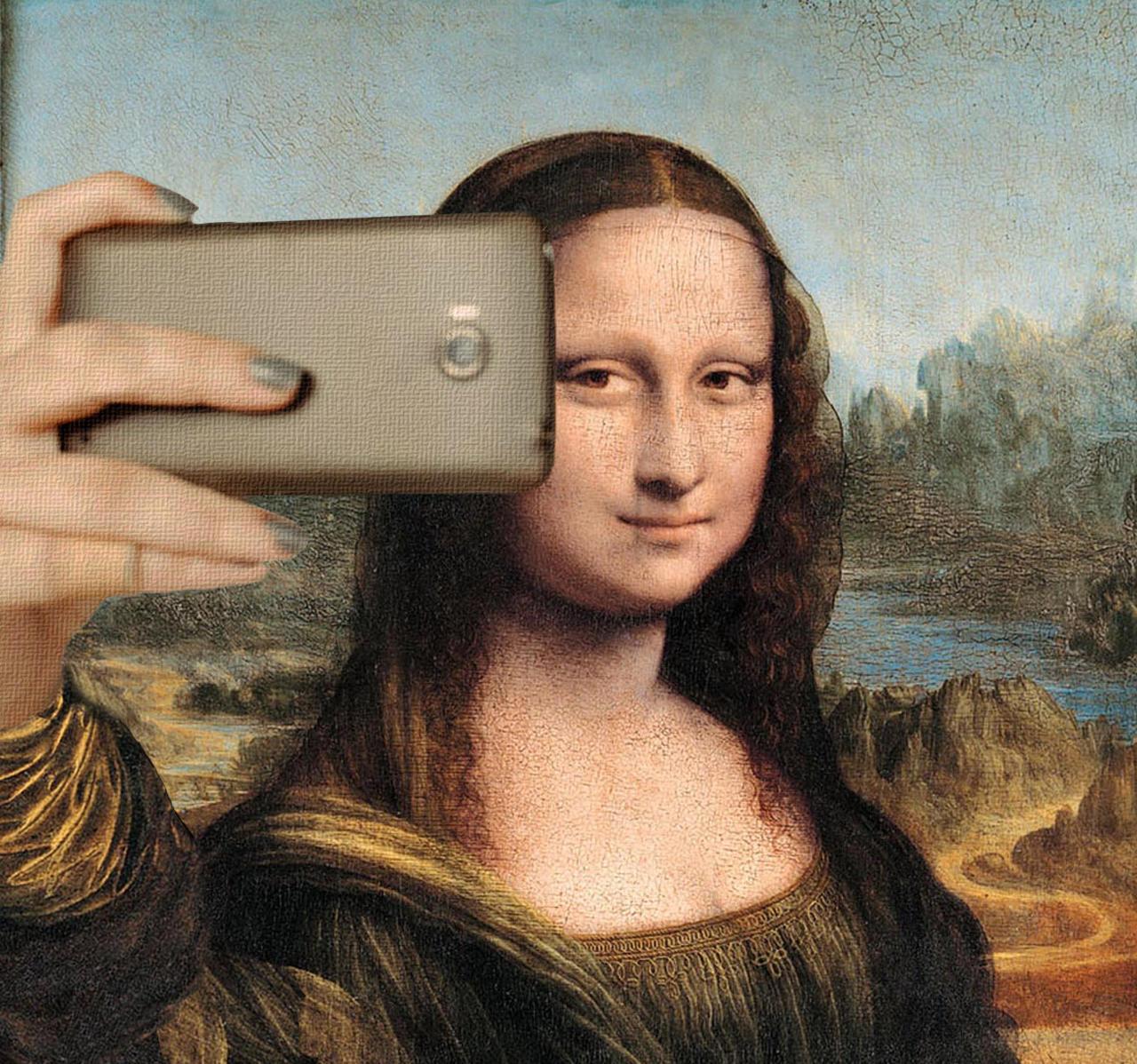 Resultado de imagen de selfi gioconda