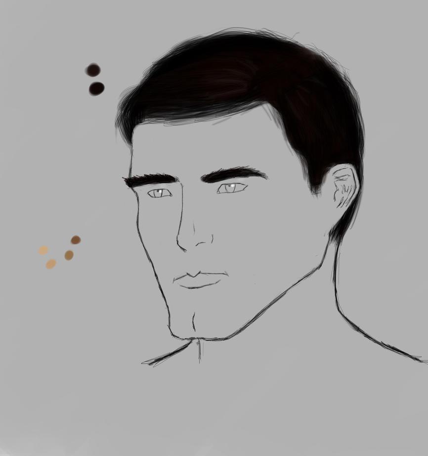 Sketch  a guy by Fr0zenTiger