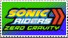 Sonic Riders ZG Stamp