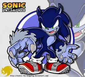 Sonic Channel: Werehog Sonic by Fuzon-S