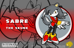 Sonic Channel: Sabre the Skunk