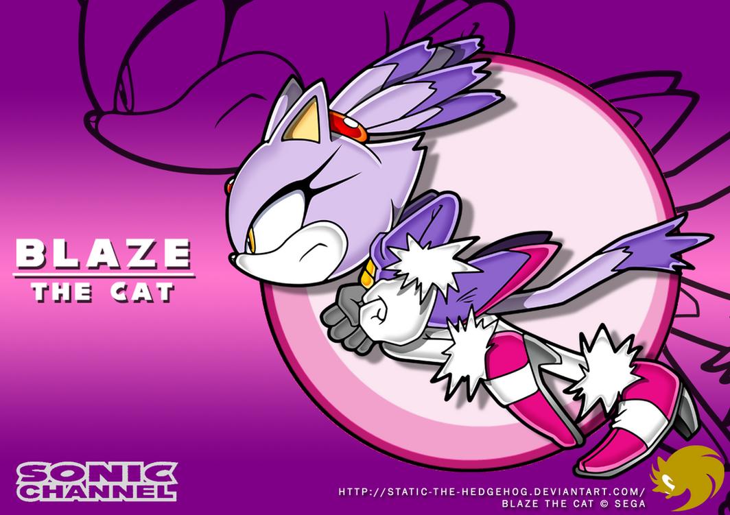 Sonic Channel Blaze By Fuzon S On Deviantart