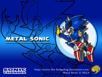 Sonic Channel: Metal Sonic by Fuzon-S