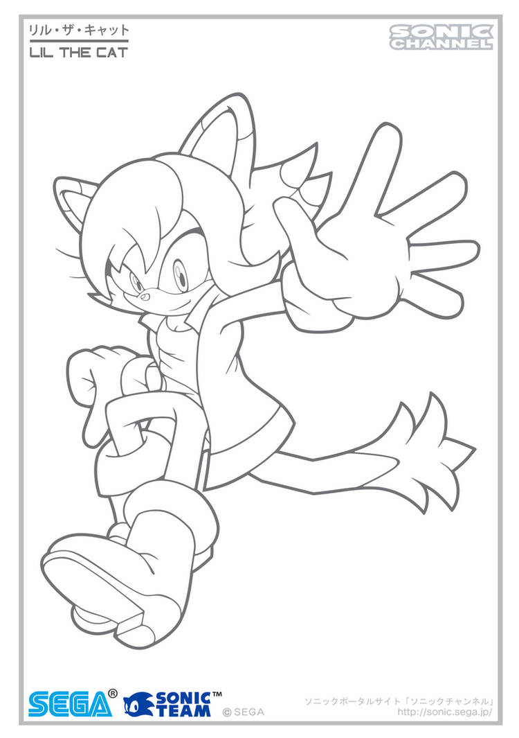 Lil Channel Coloring Page 2 by Fuzon-S on DeviantArt
