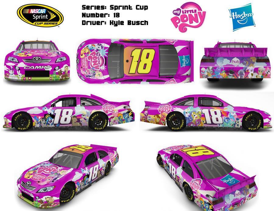 MLP NASCAR Theme Design by Fuzon-S on DeviantArt