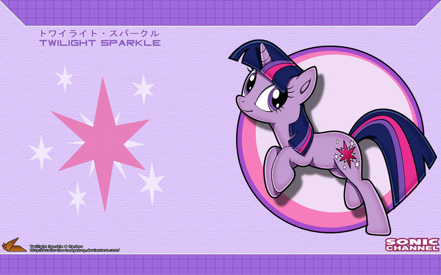 Sonic Channel '12: Twilight Sparkle by Fuzon-S