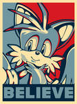 In Tails We Believe -Political Poster-