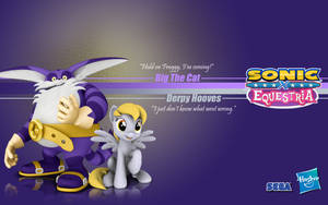 Sonic X Equestria: Big and Derpy