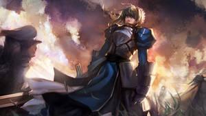 fate zero saber by ayhan63