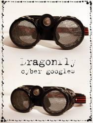 Dragonfly Cyber Googles WIP by JesterDae