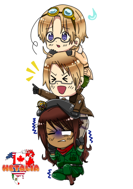 Hetalia mexico favourites by breakoneworldintwo on deviantart canada america and mexico by vanesserzz altavistaventures Choice Image