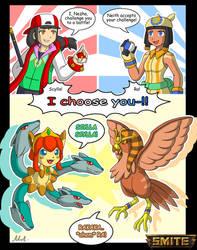 Smite Fanart: Anime Gods - Smite Pokemon by A-Lil-RnR