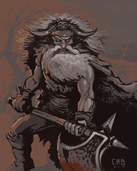 Barbarian Battler by orgo