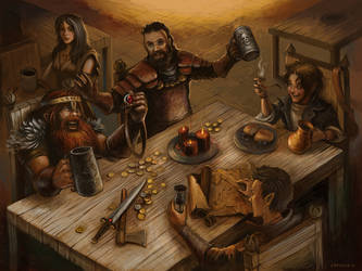 Tenkar's Tavern by orgo
