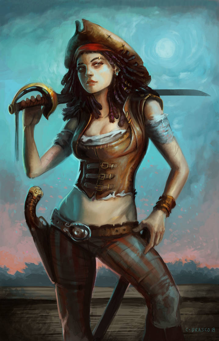 Pirate Lady by orgo