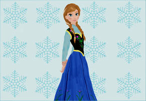 Frozen's Anna by Rapscallion16