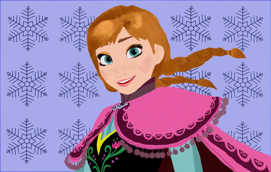 Anna from Frozen by Rapscallion16