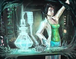 Potion Workshop by DaisanART