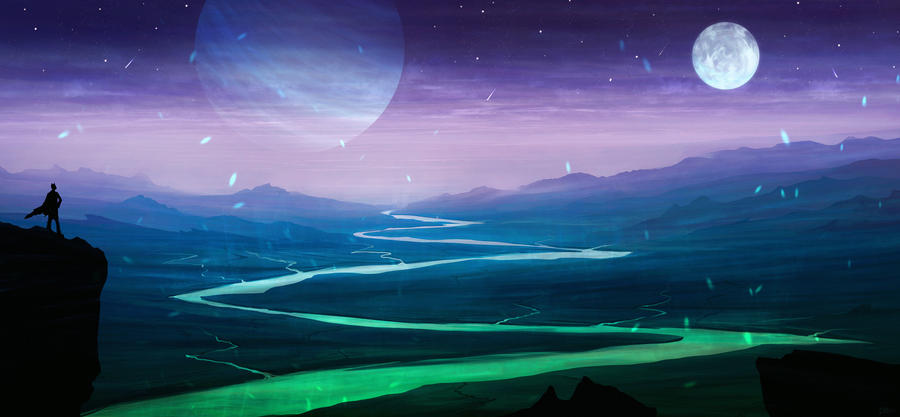 Fantasy Landscape 5 by DaisanART