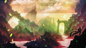 Fantasy Landscape (yt timelapse video)