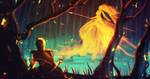 daily speedpaint 035 - kissed by fire