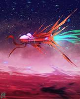 daily speedpaint 101 - Martian vehicle by DaisanART