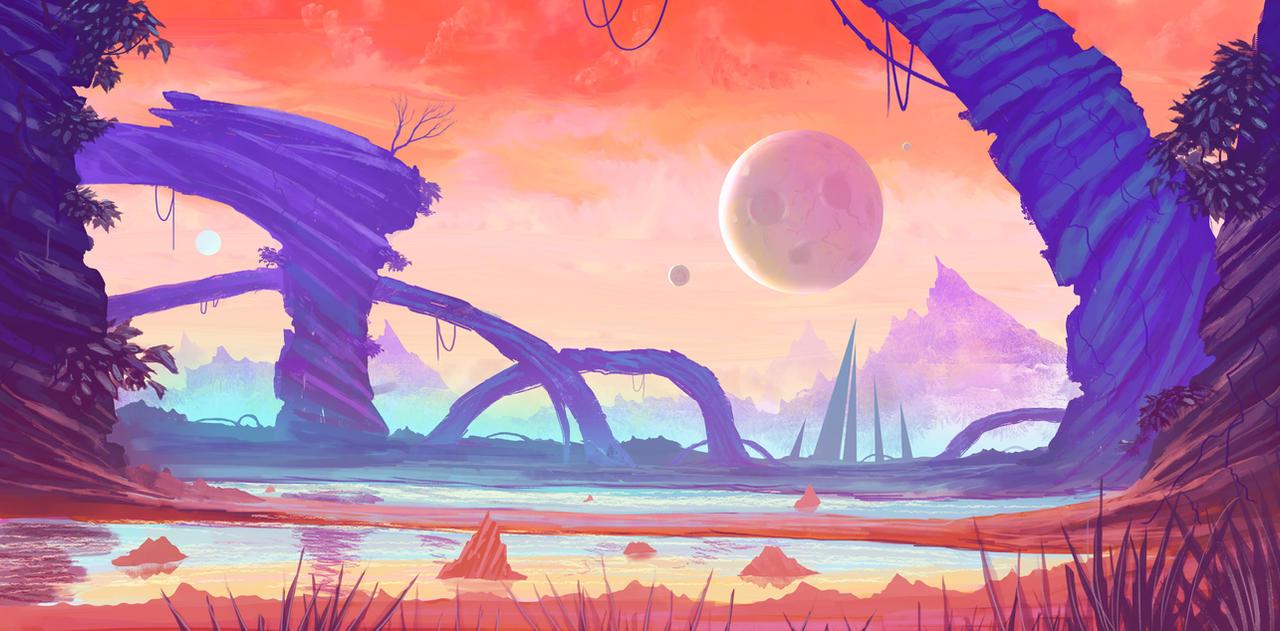 alien enviro concept by iDaisan