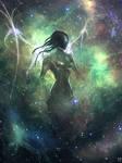 daily speedpaint 161 - Nebula angel