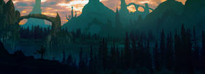 Matte painting - First attempt by DaisanART