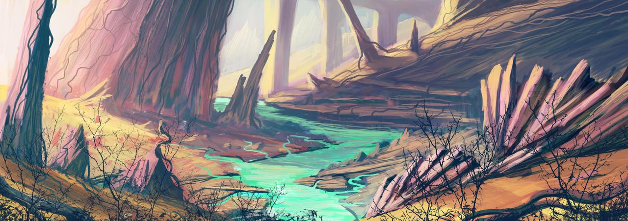 Infinite Worlds 2 by DaiSanVisART