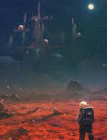 daily speedpaint 198 - Martians YT VIDEO by DaisanART