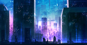 Future City concept sketch by DaisanART