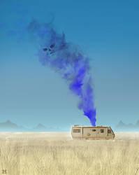 daily speedpaint 223 - Camper van - B-B Fanart by DaisanART