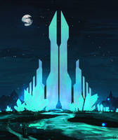 30 min speedpaint [245] - Crystal palace by DaisanART