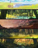 30 min landscape speedpaints 11[48] by DaisanART