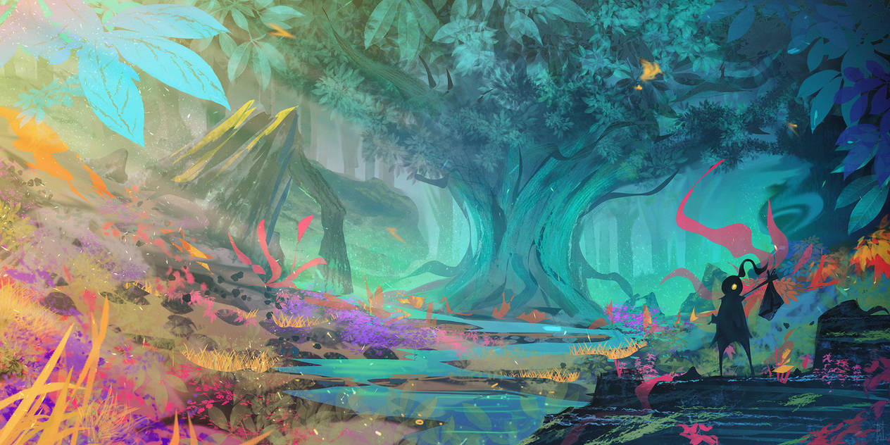 Forest Magic by DaiSanVisART