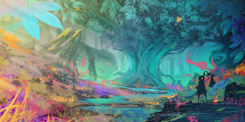 Forest Magic by DaisanART