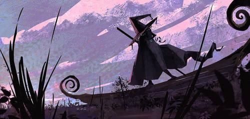 Sailing wizard by DaisanART