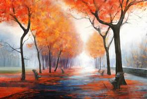 Landscape study #1 by DaisanART