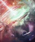 Contemplating the universe  [process vid]
