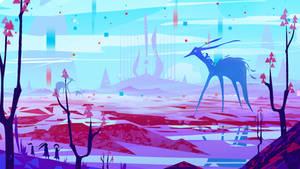'Arena of colors' TK Gamejam 2019 - Concept Art YT