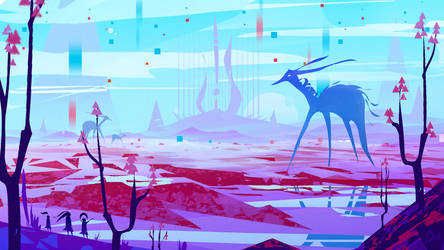 'Arena of colors' TK Gamejam 2019 - Concept Art YT