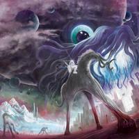 'Earthling, Go Home!' Album Art