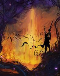 'Babylon Burning' by DaisanART