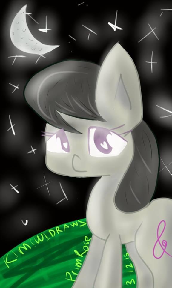 Octavia Melody fan art by KimiwiDraws