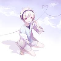 lil animu boy by BaomiChuu