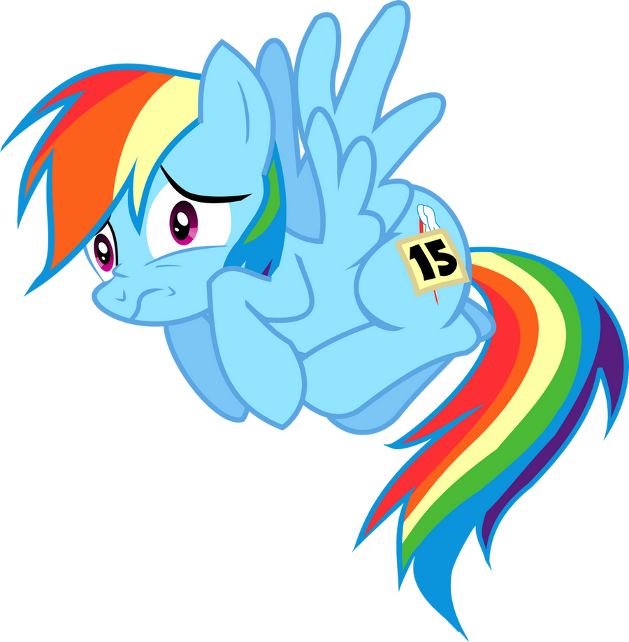 Rainbow Dash Cowering Vector By Death Of All