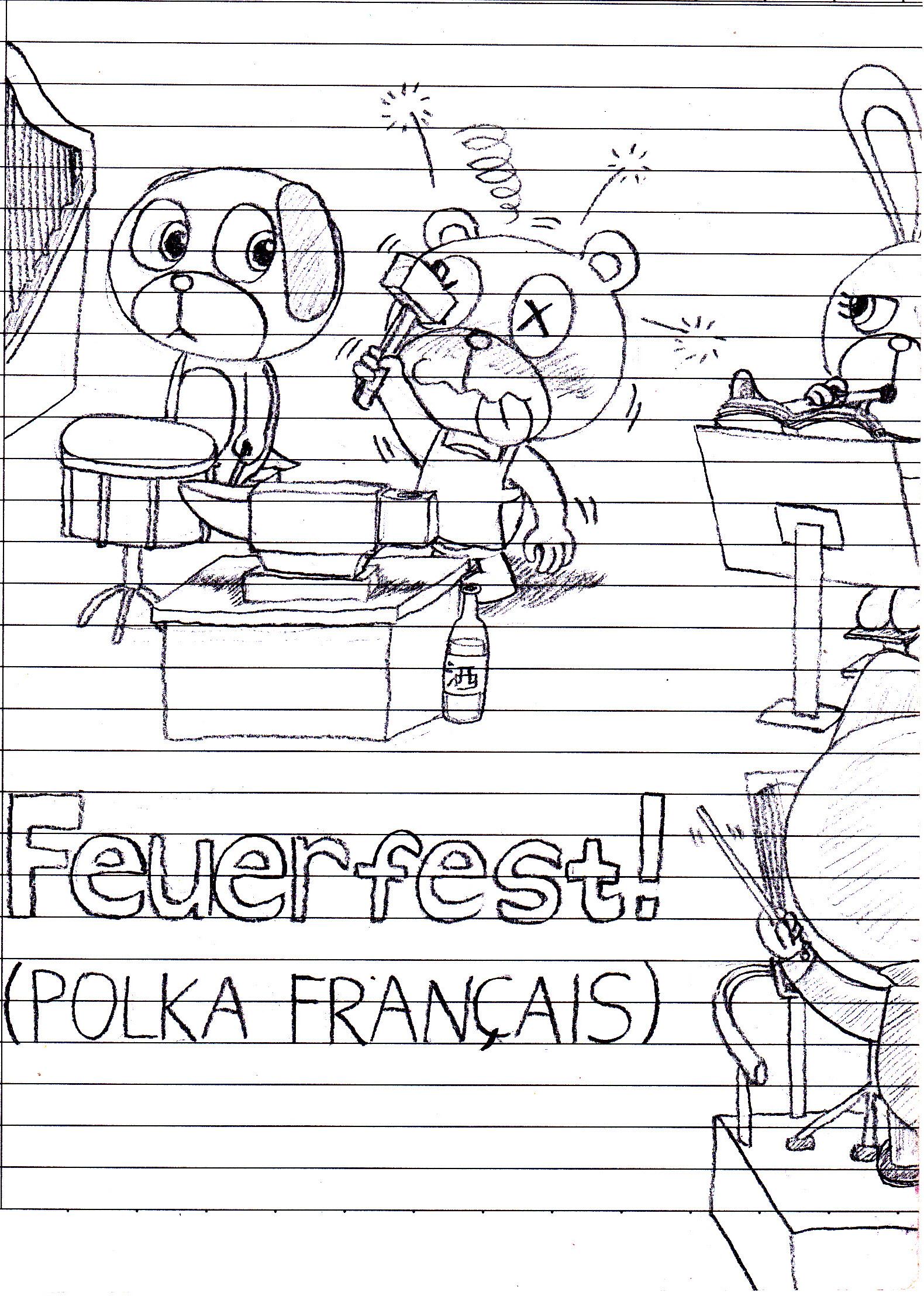 My Little Doodle Friends: Feuerfest! by QuirkyArtie