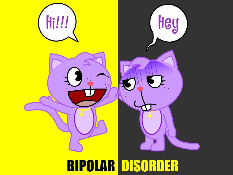 Bipolar Disorder By Quirkyartie On Deviantart