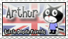 Arthur Stamp by TeufelKatze